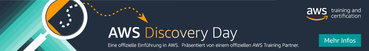 AWS Discovery Day Banner