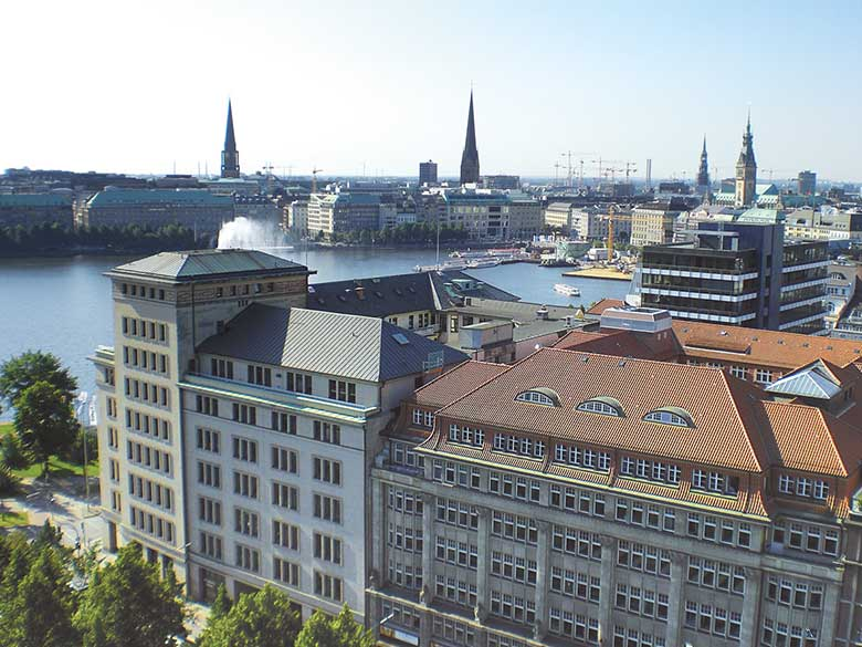 View of Hamburg